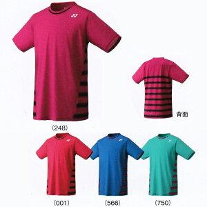 ヨネックスUNIシャツ10166トーナメントスタイルテニスウエアメンズユニセックスゲームシャツユニフォームYONEX2017年春夏モデルゆうパケット対応