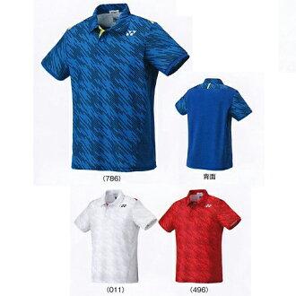 요넥스 폴로 셔츠 피트 스타일 10207 배드민턴 테니스 웨어 유니폼 게임 셔츠 반소매 맨즈 유니섹스 남녀 겸용 YONEX 2017년 봄여름 모델 하는 패킷() 대응