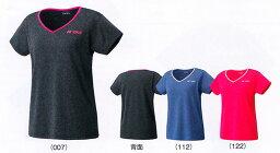 供優乃克WOMEN T恤16246羽球網球襯衫短袖女士婦女女性使用的YONEX 2016年型號yuu分組對應