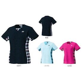 ヨネックス ゲームシャツ 20396バドミントン テニス ウエア 半袖 ユニフォームレディース YONEX 2017AW ゆうパケット(メール便)対応 ラッキーシール対応