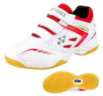 供小小尤尼克斯功率靠垫640(POWER CUSHION 640 JUNIOR)SHB640JR羽毛球鞋低切小孩使用的YONEX 2016年型号