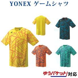 ヨネックス ゲームシャツ(フィットスタイル) 10236 メンズ 2018AW バドミントン テニス ゆうパケット(メール便)対応 2018新製品 2018秋冬 ラッキーシール対応