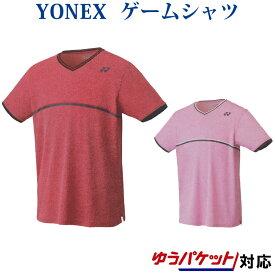 ヨネックス ゲームシャツ(フィットスタイル) 10281 メンズ ユニセックス 2019AW バドミントン テニス ゆうパケット(メール便)対応 半袖