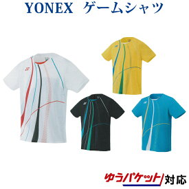 ヨネックス ゲームシャツ(フィットスタイル) 10291 メンズ 2019AW バドミントン テニス ゆうパケット(メール便)対応 半袖