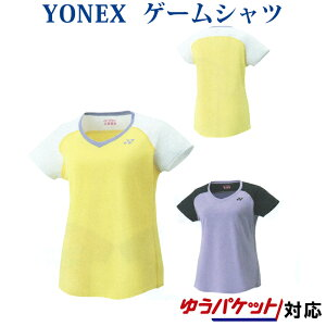 ヨネックスゲームシャツ 20453 レディース 2019SS バドミントン テニス ゆうパケット(メール便)対応 返品・交換不可 クリアランス