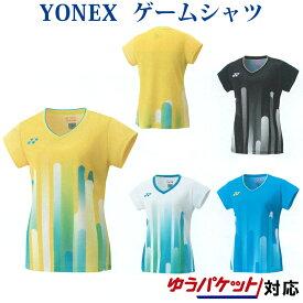 ヨネックスゲームシャツ 20465 レディース 2019SS バドミントン テニス ゆうパケット(メール便)対応 2019最新 2019春夏
