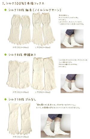 冷え取り重ね履き基本の4足セット