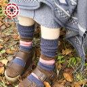 ウールボーダーソックス 【ウール 靴下】