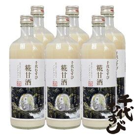 【送料込み】千代むすび酒造 糀甘酒アマビエ785g 6本セット
