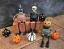 ハロウィン かぼちゃ パンプキントリオ お座り パンプキン オーナメント ガーデニング ガーデン 置物 雑貨 グッズ【 …
