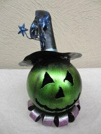 ハロウィン かぼちゃ パンプキン オーナメント ガーデニング ガーデン 置物 雑貨 グッズ【ブリキパンプキン A 】