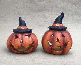 ハロウィン かぼちゃ パンプキン オーナメント ガーデニング ガーデン 置物 雑貨 グッズ【 パンプキンハット(S) 】