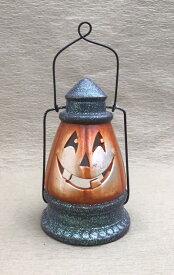 ハロウィン かぼちゃ パンプキン オーナメント ガーデニング ガーデン 置物 雑貨 グッズ【 ハロウィンランタン L 】