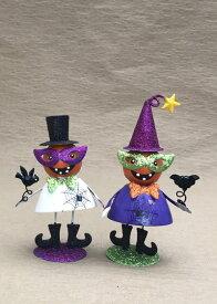 ハロウィン かぼちゃ パンプキン オーナメント ガーデニング ガーデン 置物 雑貨 グッズ【 ぶらぶらパンプキン 】