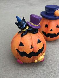 ハロウィン かぼちゃ パンプキン オーナメント ガーデニング ガーデン 置物 雑貨 グッズ【 ミニパンプキン 】