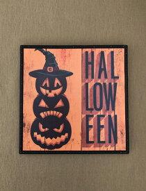 ハロウィン ハロウィンプレート ボード  かぼちゃ パンプキン オーナメント ガーデニング ガーデン 置物 雑貨 グッズ【 ハロウィンボード D  】