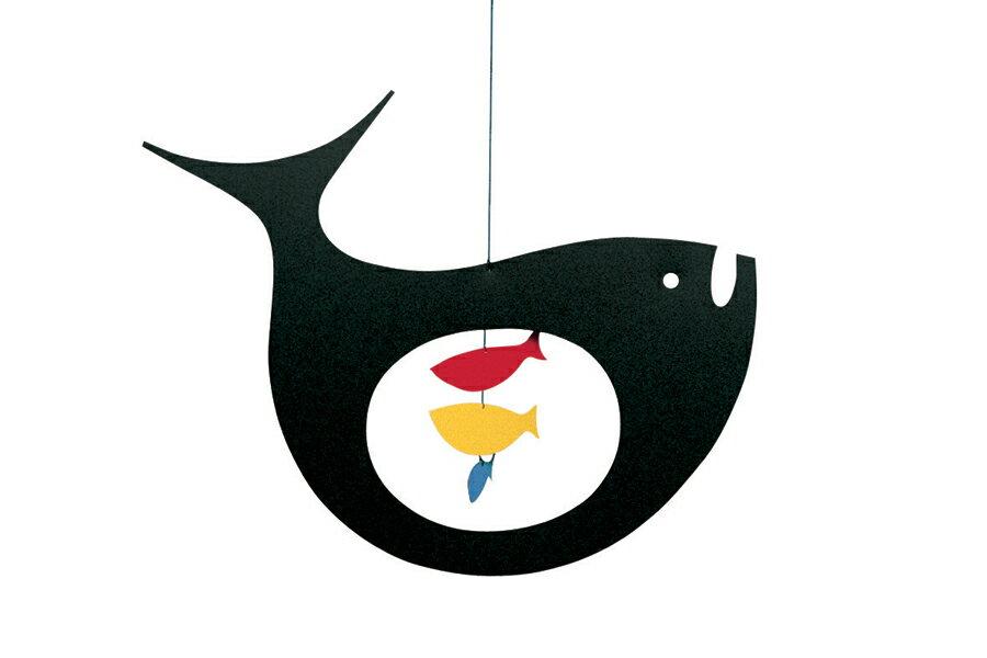 FLENSTED mobilesフレンステッドモビール 北欧デンマークモビール Expecting Fish クジラ【北欧雑貨 インテリア リビング雑貨 デンマーク フレンステッド・モビール 】