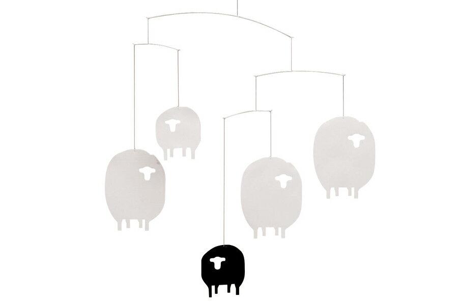FLENSTED mobilesフレンステッドモビール 北欧デンマークモビール Sheep ヒツジ羊【北欧雑貨 インテリア リビング雑貨 デンマーク フレンステッド・モビール 】