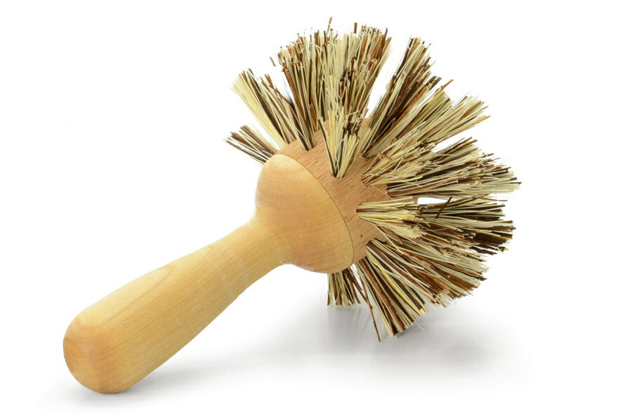 iris hantverkイリスハントバーク 深型鍋に便利な固めの鍋用ブラシ【北欧雑貨 キッチン雑貨 鍋洗い フライパン掃除 食器】