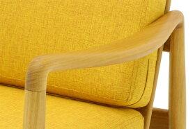 CHLOROSクロロスCalmイージーチェア/シングルソファR2【CHLOROS北欧家具チーク材天然木おしゃれインテリアシンプル高品質シングルソファ一人掛けソファイージーチェア】