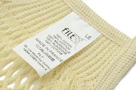FILTフィルトフランス製ネットバッグMサイズ【北欧コットン綿メッシュエコバッグお買物トート野菜袋おしゃれ】