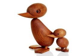 【北欧雑貨】チーク材の木製オブジェDuckアヒルSサイズ/ARCHITECTMADEアーキテクトメイド