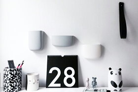 Nor-Folk壁掛け日めくりカレンダーPerpetualType【イギリスウォールデコレーションモノトーン】
