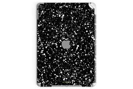 UNIQFINDユニークファインド 【取扱終了】【40%OFF】iPad Air 2 Pro Mini スキンシール Speckle ブラック【ipad Air mini Pro Apple macbook ケース スキンシール ステッカー 大理石 白 黒 ドット モノクロ アクセサリー ファッション】