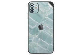 UNIQFINDユニークファインド iPhone 11 Skinスキンシール/保護シール Mint Marble【iphoneX iphoneXS iphoneXS MAX iphoneXR スマホケース 携帯ケース スキンシール ステッカー アイフォン 大理石 白 黒 ドット モノクロ アクセサリー ファッション おしゃれ】