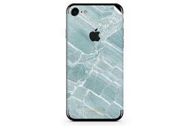 UNIQFINDユニークファインド iPhone6/6S/7/8 Plus スキンシール/保護シール Mint Marble【iphone6 iphone6S iphone7 Plus スマホケース 携帯ケース スキンシール ステッカー アイフォン 大理石 白 黒 ドット モノクロ アクセサリー ファッション おしゃれ】