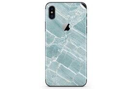 UNIQFINDユニークファインド iPhone X/XS/XS Max/XR Skinスキンシール/保護シール Mint Marble【iphone X/XS/XS Max/XR スマホケース 携帯ケース スキンシール ステッカー アイフォン 大理石 白 黒 ドット モノクロ アクセサリー ファッション おしゃれ】