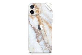 UNIQFINDユニークファインド iPhone 12/12 Pro/12 Pro Max/12 Mini Skinスキンシール/保護シール Vanilla Marble【iphoneX iphone11 iphone12 スマホケース 携帯ケース ステッカー アイフォン 大理石 白 黒 ドット モノクロ アクセサリー ファッション おしゃれ】