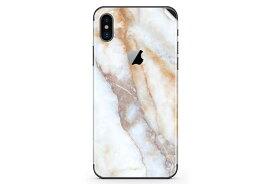 UNIQFINDユニークファインド iPhone X/XS/XS Max/XR Skinスキンシール/保護シール Vanilla Marble【iphone X/XS/XS Max/XR スマホケース 携帯ケース スキンシール ステッカー アイフォン 大理石 白 黒 ドット モノクロ アクセサリー ファッション おしゃれ】