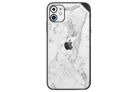 UNIQFINDユニークファインド iPhone 11 Skinスキンシール/保護シール White Marble【iphoneX iphoneXS iphoneXS MAX iphoneXR スマホケース 携帯ケース スキンシール ステッカー アイフォン 大理石 白 黒 ドット モノクロ アクセサリー ファッション おしゃれ】
