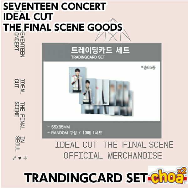 SEVENTEEN TRADINGCARD 「 2018 SEVENTEEN CONCERT IDEAL CUT THE FINAL SCENE OFFICIAL GOODS」SVT 公式グッズ