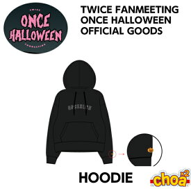 TWICE HOODIE [TWICE 2018 ONCE HALOOWEEN FAN MEETING GOODS] 公式グッズ