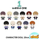 WANNA ONE CHARACTER DOLL [WANNA-ONE POP-UP WINTER STORE GOODS] 公式グッズ wanna one ワナワングッズ