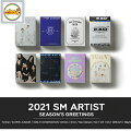 送料無料!SMARTISTSEASON'SGREETINGS2021TVXQ東方神起SUPERJUNIORSHINeeEXOSNSDRedVelvetNCT127NCTDREAMWayVアーティスト選択2021シーグリsmtown