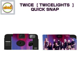 TWICE QUICK SNAP [TWICE WORLD TOUR 2019 'TWICELIGHTS' IN SEOUL GOODS] 公式グッズ