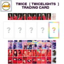 TWICE TRADING CARD [TWICE WORLD TOUR 2019 'TWICELIGHTS' IN SEOUL GOODS] 公式グッズ
