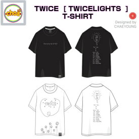 TWICE T-SHIRT [TWICE WORLD TOUR 2019 'TWICELIGHTS' IN SEOUL GOODS] 公式グッズ