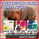 TAEYANG 3RD ALBUM [ WHITE NIGHT ] CD 白夜 DARLING /BIGBANG テヤン アルバム