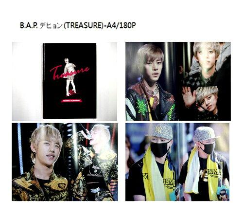 B.A.P - デヒョン [ TREASURE ] ファンサイト制作 写真集 bap デヒョン 写真 BAP
