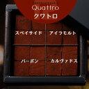 バレンタイン 2020 生チョコレート Quattro 4種類 洋酒入り 16粒入り あす楽 ご自宅用 ウィスキー ボンボン 限定 スイ…