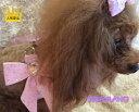 【SUSANLANCI スーザンランシー】ハート スワロフスキー ハーネス セレブ愛用 犬用品 姫系 リボン 超小型犬 …