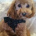 【SUSANLANCI スーザンランシー】ハート スワロフスキー リボン ハーネス セレブ愛用 犬用品 小型犬 姫系 セレブ犬 セレブ