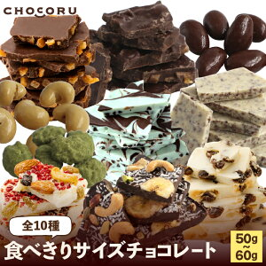食べきりサイズチョコレート全10種【 割れチョコ アーモンド チョコ チョコレート チョコ プチギフト プチプラ ご褒美 アソートコーヒー ナッツ アーモンド 抹茶 キャラメル チョコミント