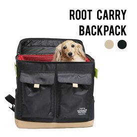 犬 キャリーバッグ リュック バッグ キャリーバッグ メッシュ マンダリンブラザーズ / MANDARINE BROTHERS/ROOT CARRY BACKPACK