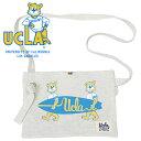 サコッシュ ショルダーバッグ お散歩バッグ 肩掛け 簡易バッグ ユニセックス メンズ レディース 犬 UCLA.SACOCHE(OATEMEAL)