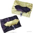 韓国風呂敷パープル×ライトイエロー 106cm角(両面使い可能) ■furoshiki-r-35-s【ギフト】【お土産】